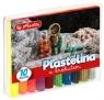 Plastelina z brokatem 10 kolorów (9567215)
