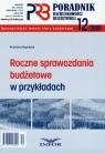 Poradnik rachunkowości budżetowej 2009/12 Roczne sprawozdania budżetowe w Gąsiorek Krystyna