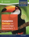 Complete Biology for Cambridge Secondary 1 Student's Book