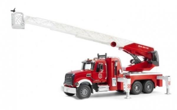 Pojazd Mack Granite Straż pożarna z pompą wodną (BR-02821)