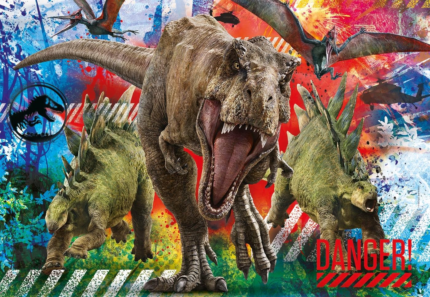 Puzzle SuperColor 180: Jurassic World (29106)