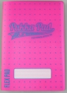 Zeszyt A5/60K kratka Neon pink