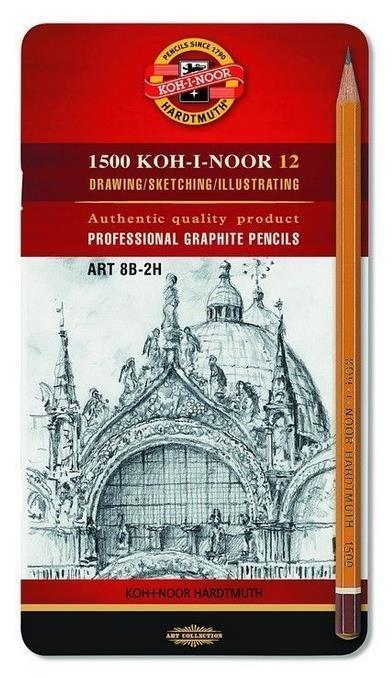 Ołówek grafitowt 12 sztuk (1502)