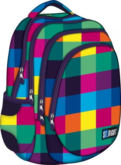 Plecak szkolny Stright Maxi Squares BP-06