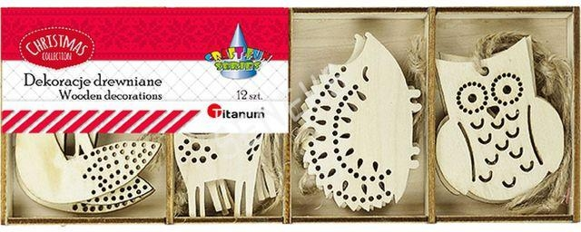 Dekoracje drewniane zwierzęta (413054)