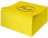 Kostka kolor nieklejona żółta do origami