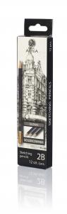 Ołówek do szkicowania 2B Artea 12 sztuk