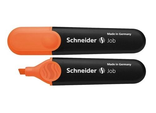 Zakreślacz Schneider Job, 1-5 mm, pomarańczowy - 10 sztuk