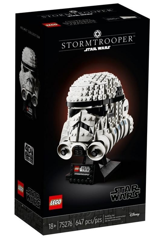 Klocki Star Wars Hełm Szturmowca (75276)