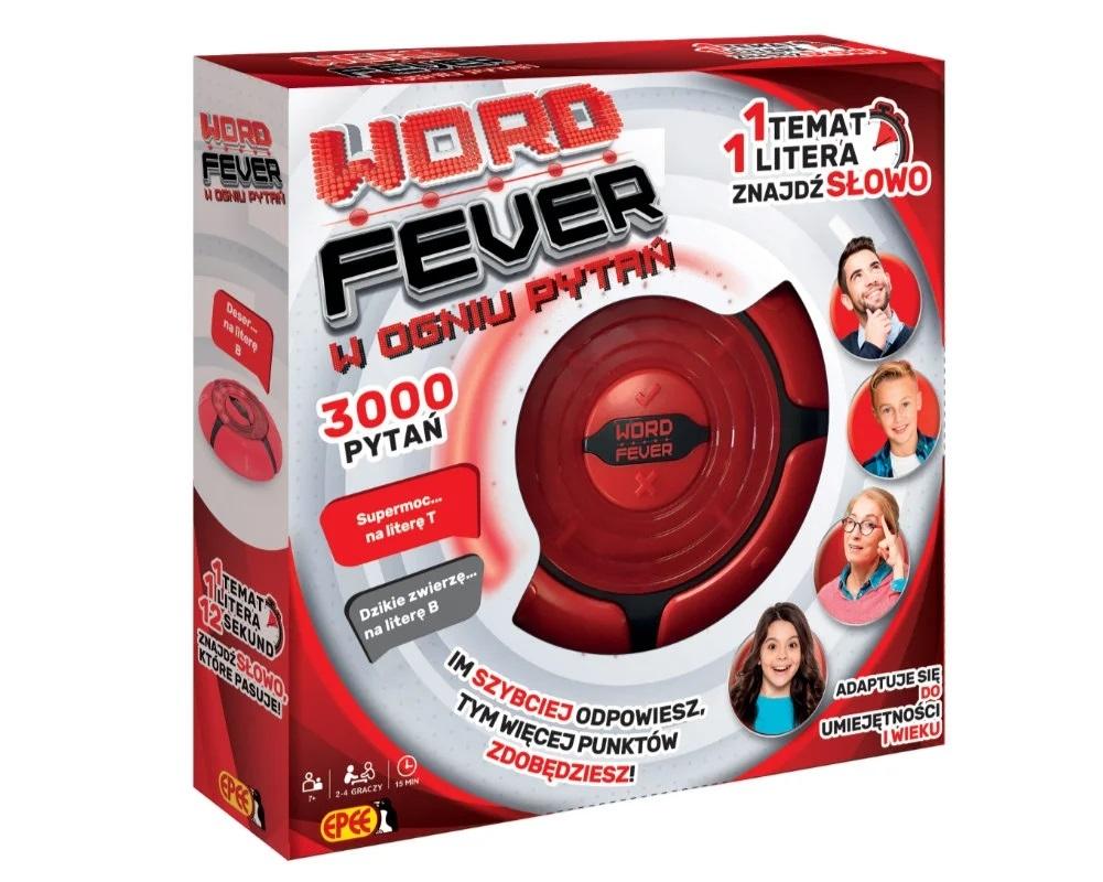 Word Fever - W ogniu pytań - elektroniczna gra familijna (EP04121)
