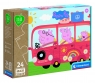 Clementoni, puzzle Maxi Play For Future 24: Peppa Pig (24221) 0