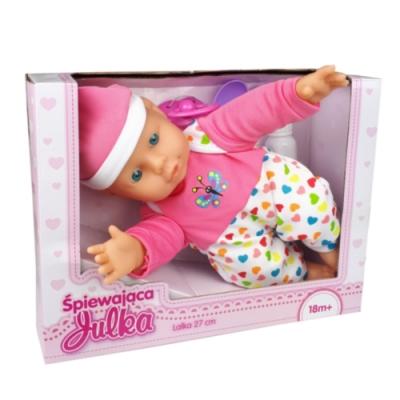Lalka Julka mówiąca Bobas 32 cm