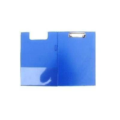 Deska A4 PVC z klipsem i okładką niebieska D.RECT