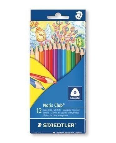 Kredki trójkątne ołówkowe 12 kolorów