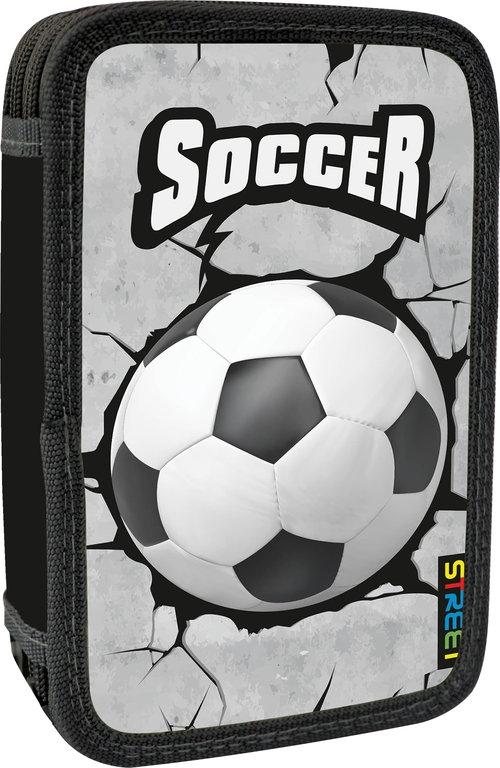 Piórnik dwusuwakowy bez wyposażenia Soccer 1 Street null