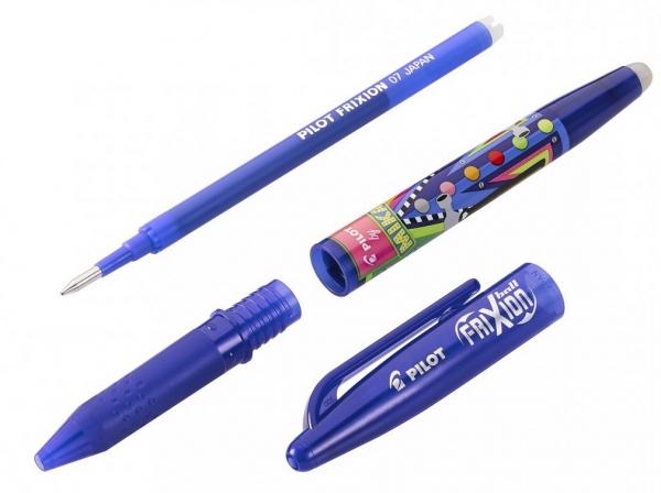 Pióro kulkowe Frixion Ball Mika Edycja limitowana niebieskie (BL-FR7-L-MK)