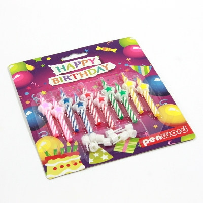 Świeczki urodzinowe 10 sztuk (PT-10G)