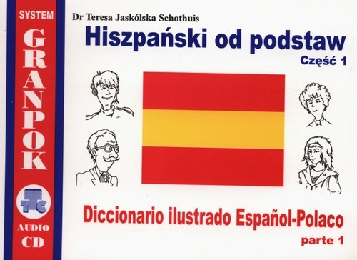 Hiszpański od podstaw CD Jaskólska-Schothuis Teresa