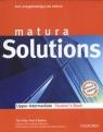 Matura Solutions Upper Intermediate Students book Kurs przygotowujący do Falla Tim, Davies Paul, Gryca Danuta i inni