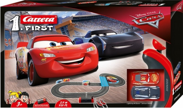 CARRERA FIRST Disney Cars 3 - 2,9m (63021)