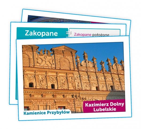 Puzzle 104: Uczę się Bawiąc, Odkrywamy Polskę (50021)