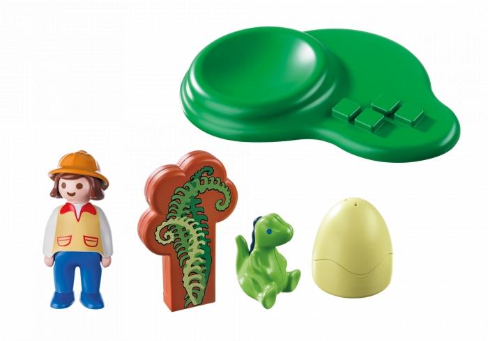 Mały dinozaur w jajku (9121)