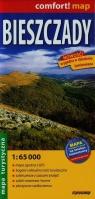 Bieszczady mapa turystyczna 1:65 000