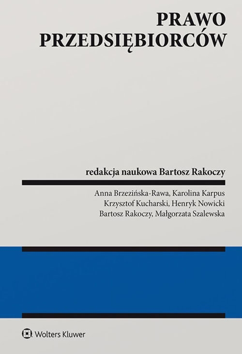 Prawo przedsiębiorców - Rakoczy Bartosz - książka