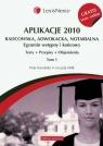 Aplikacje 2010 Radcowska, adwokacka, notarialna t.1 z testami online