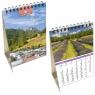 Kalendarz biurkowy 2021 pion mały Pl Krajobrazy