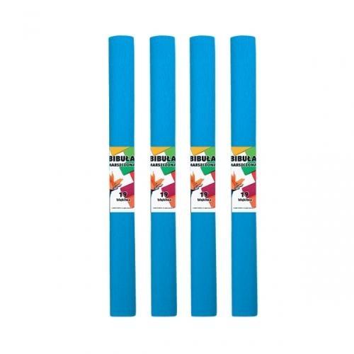 Bibuła marszczona 19 błękitna 10szt