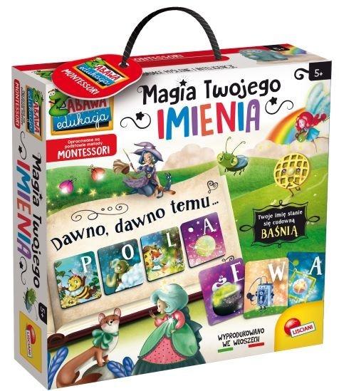 Montessori - Magia Twojego imienia (304-PL80182)