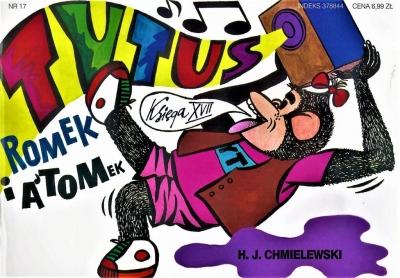 Tytus, Romek i A'Tomek. Księga XVII. Tytus muzykiem (Uszkodzona okładka) Henryk Jerzy Chmielewski