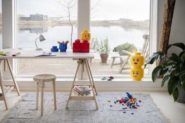 LEGO, Pojemnik duża głowa - Chłopiec (40321724)