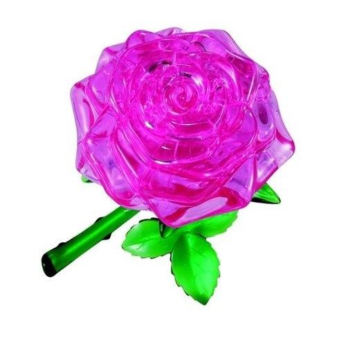 Puzzle 3D Różowa Róża (1216)