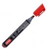 Marker pemanentny napełnialny ścięty czerwony TO-22122