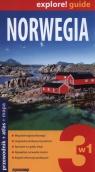 Norwegia 3 w 1 Przewodnik atlas mapa