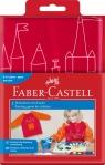 Fartuszek do malowania dla dzieci - czerwony (201204)
