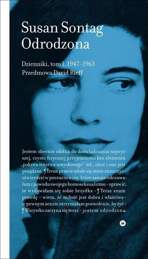 Odrodzona Dzienniki Tom 1 1947-1963 Sontag Susan