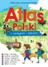 Atlas Polski z naklejkami i plakatem Kaniewska Paulina