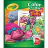 Kolorowanka z naklejkami TrolleTrolls Colour N Sticker