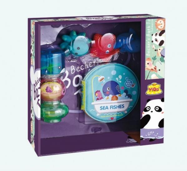 Zestaw zabawek do wody-zwierzęta morski (YQ8221-3)