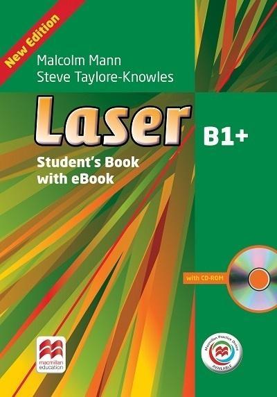 Laser 3rd Edition B1+. Książka ucznia + Macmillan Practice Online + eBook Malcolm Mann, Steve Taylore-Knowles