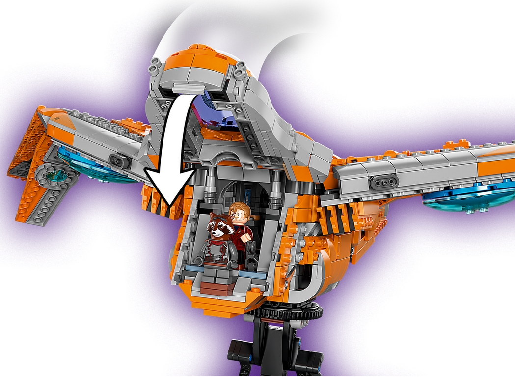 Lego Marvel Super Heroes: Statek Strażników (76193)