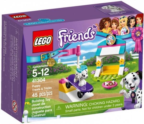 Lego Friends: Sztuczki i przysmaki dla piesków (41304)