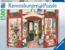 Ravensburger, Puzzle 1500: Worldsmith's księgarnia (168217)