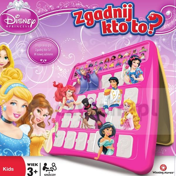 Zgadnij kto to? Księżniczki Disney (Uszkodzone opakowanie) (023641)