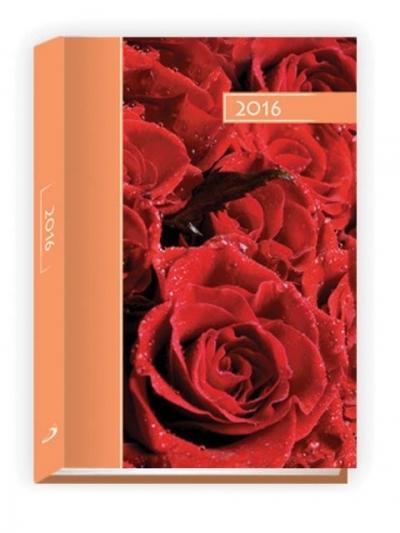 Kalendarz B6 kolorowy 2016 róże .