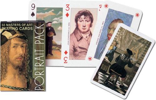 Karty do gry Piatnik 1 talia Autoportrety