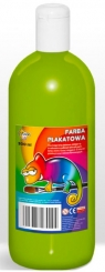 Farba plakatowa jasna zieleń, 500 ml